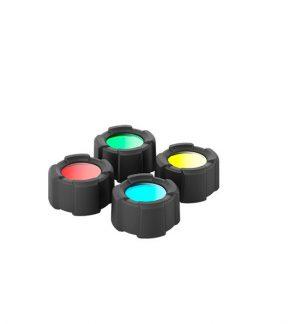 MT10 Filtro de cuatro colores + protector para linterna